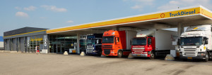 Truckstop 8, tankstation